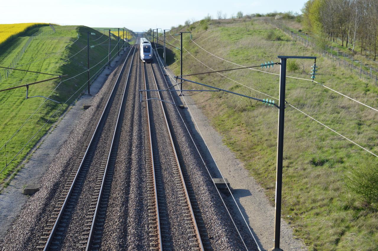 Ligne TGV haut Serbonnes