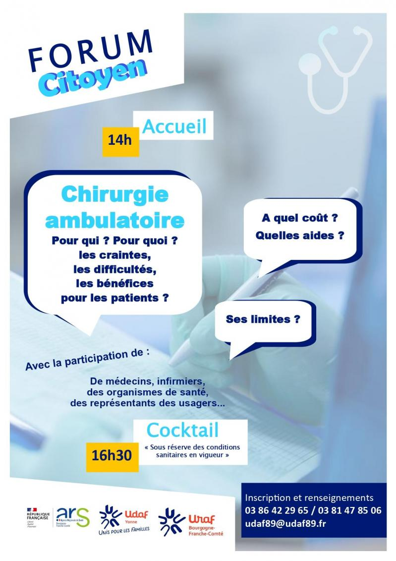 Affiche forum chirurgie ambulatoire p2